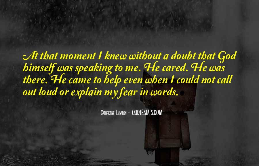 Faith Not Fear Quotes #1608553