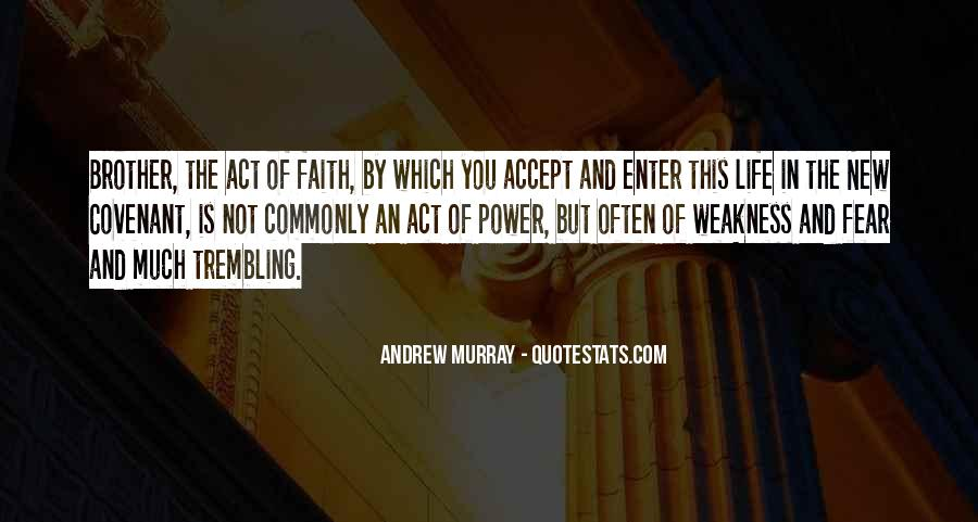Faith Not Fear Quotes #190628