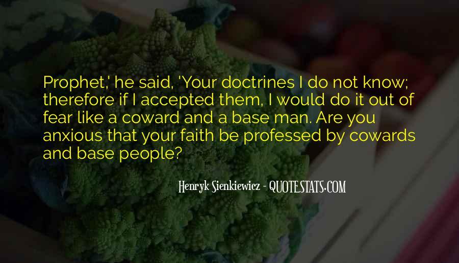 Faith Not Fear Quotes #311163