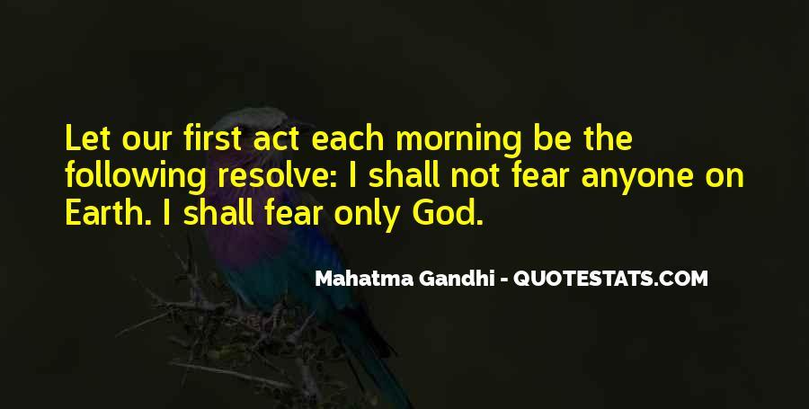Faith Not Fear Quotes #337387
