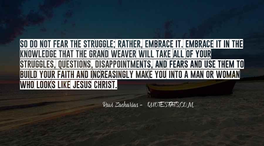 Faith Not Fear Quotes #429204