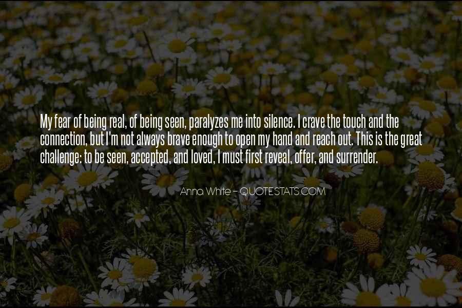 Faith Not Fear Quotes #439572