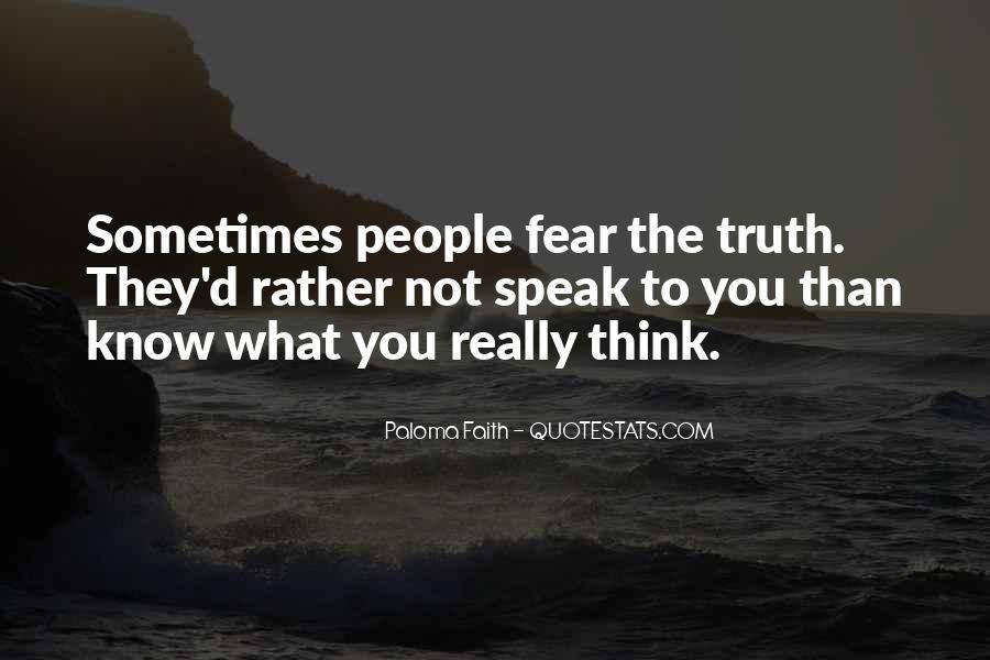 Faith Not Fear Quotes #555692