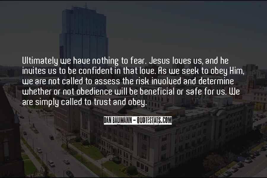 Faith Not Fear Quotes #597774