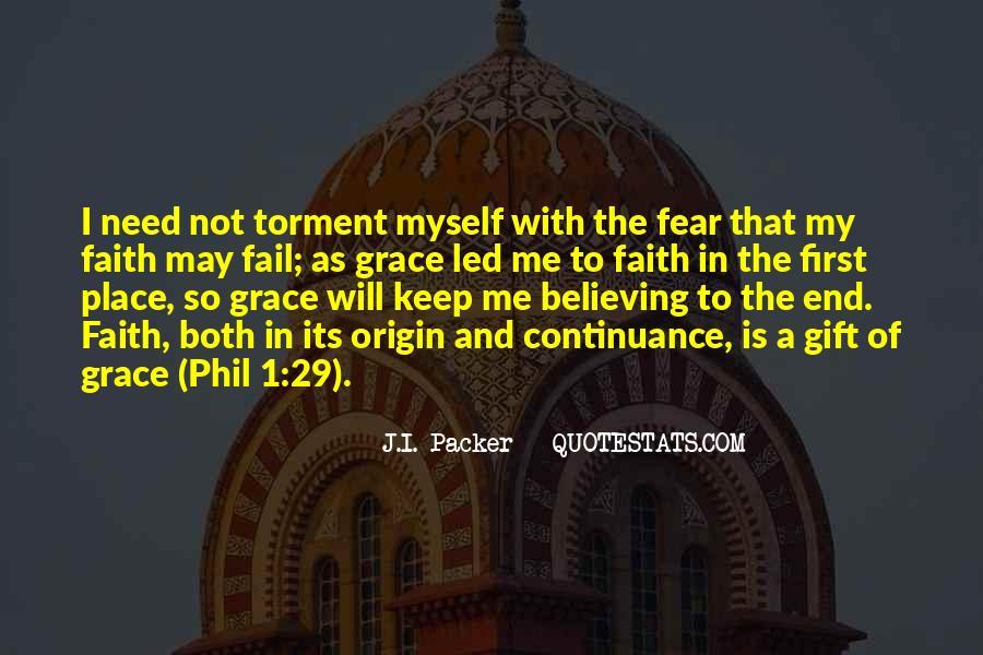 Faith Not Fear Quotes #763321