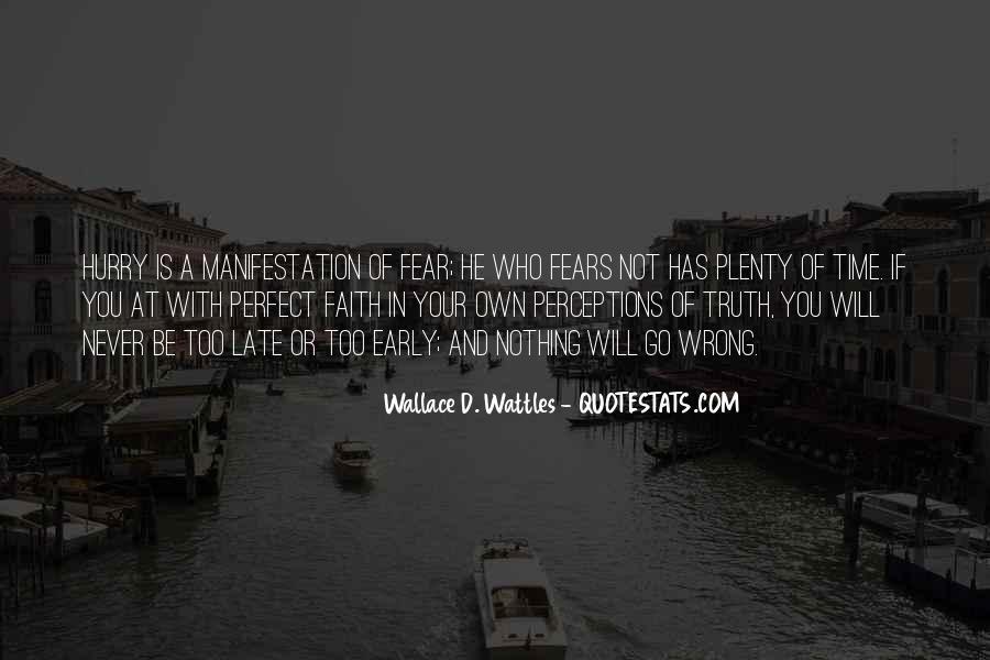 Faith Not Fear Quotes #871860