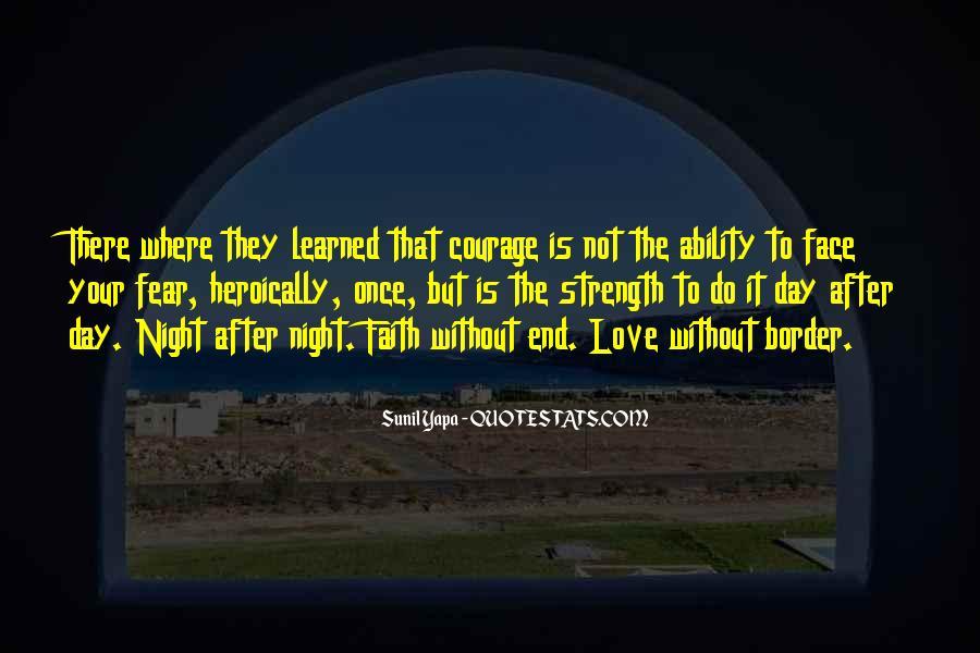 Faith Not Fear Quotes #930889