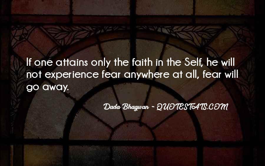 Faith Not Fear Quotes #940358