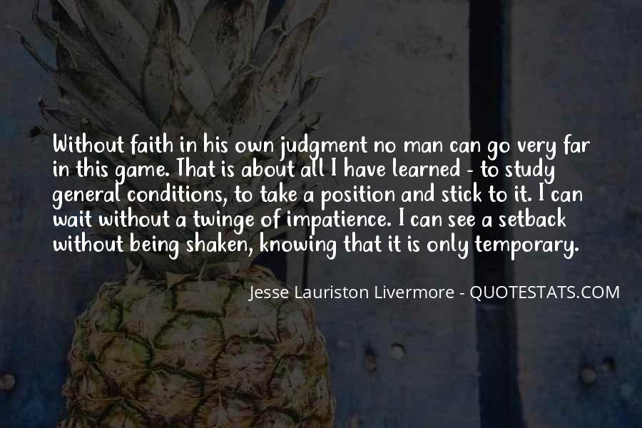 Faith Shaken Quotes #1777018