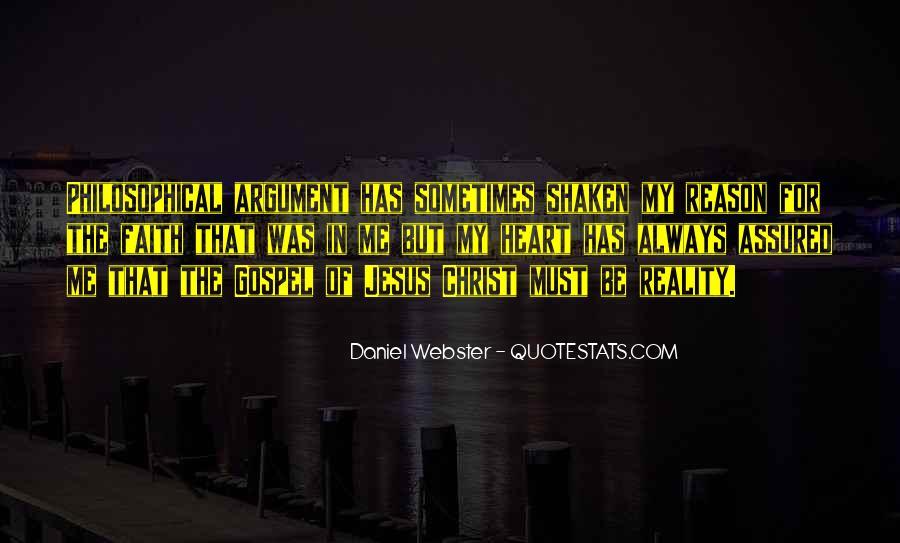 Faith Shaken Quotes #1861537