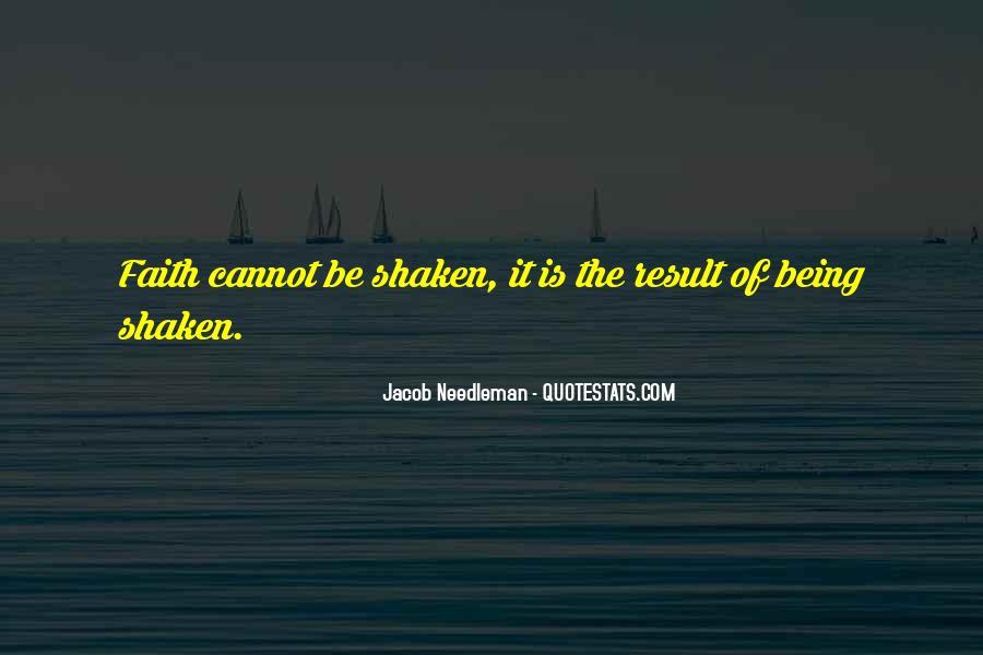 Faith Shaken Quotes #1873055