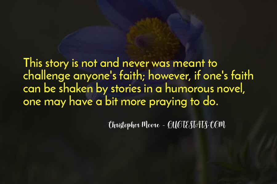 Faith Shaken Quotes #453685