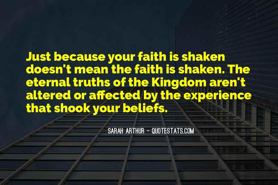 Faith Shaken Quotes #583023