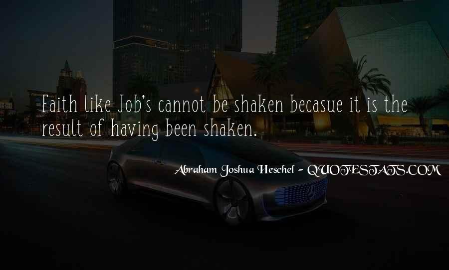Faith Shaken Quotes #708446