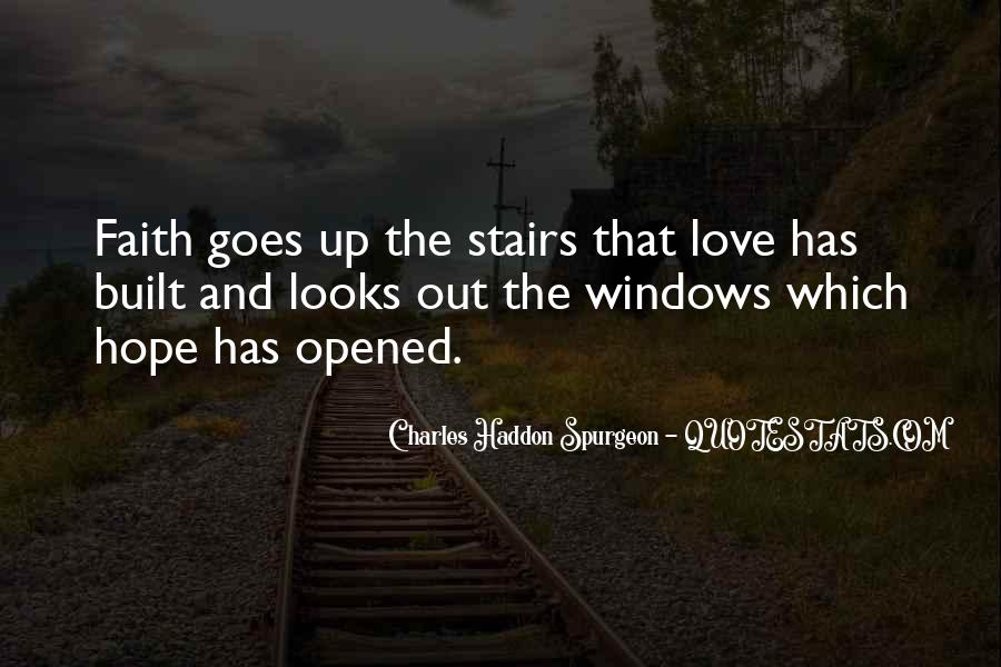 Faith Stairs Quotes #198243