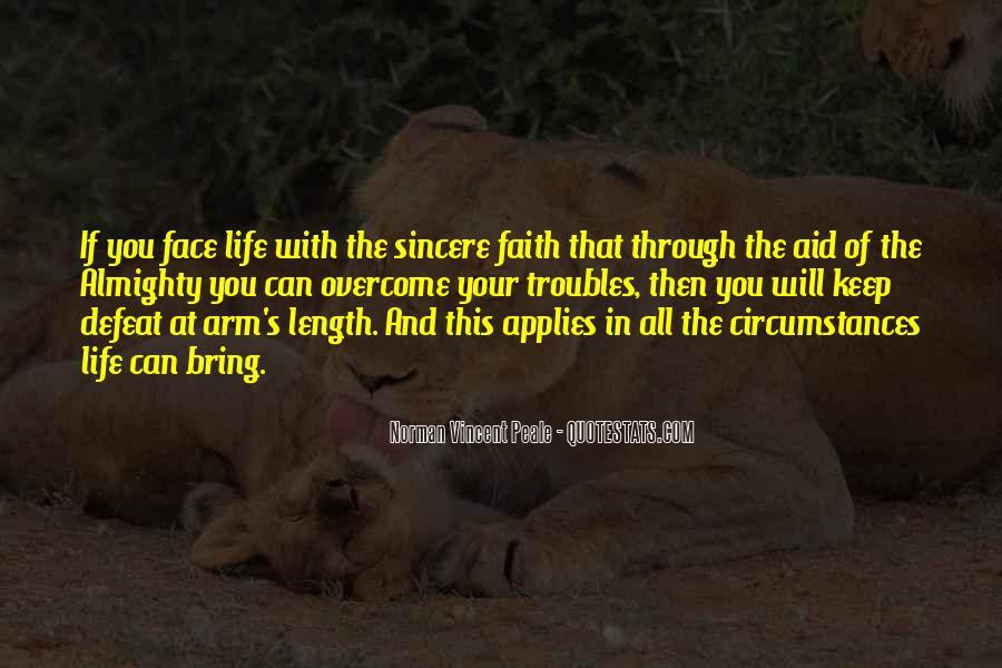 Faith Will Get You Through Quotes #106519