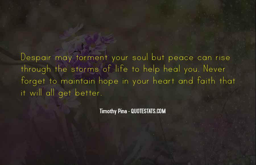 Faith Will Get You Through Quotes #1685693