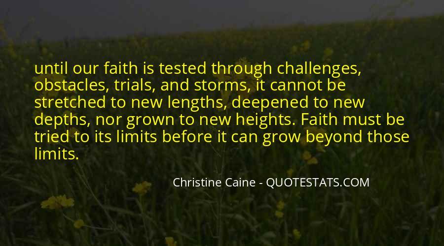 Faith Will Get You Through Quotes #52333