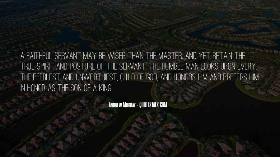 Faithful Servant Quotes #269026