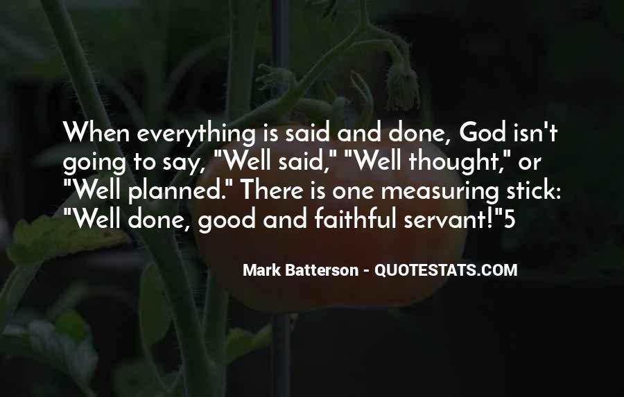 Faithful Servant Quotes #786184