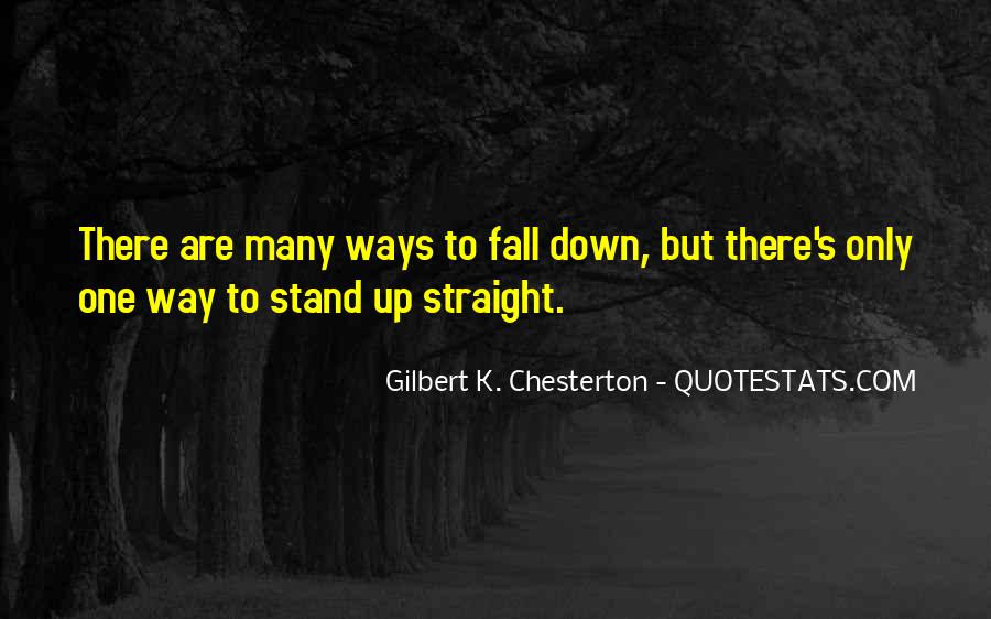 Fall But Stand Up Quotes #1086522