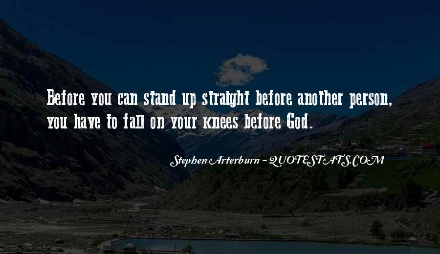 Fall But Stand Up Quotes #147763