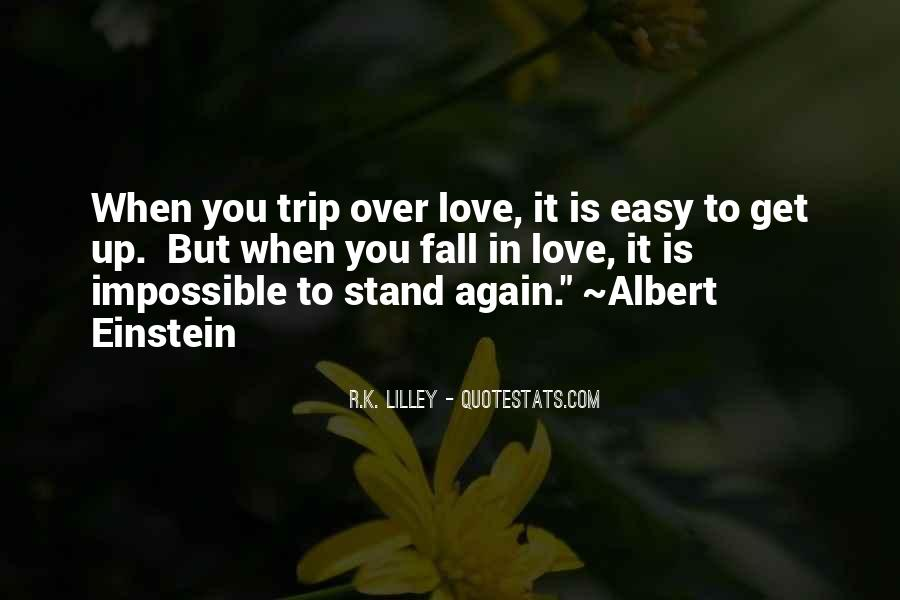 Fall But Stand Up Quotes #1520393