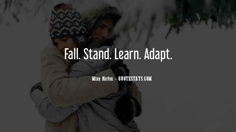 Fall But Stand Up Quotes #281771