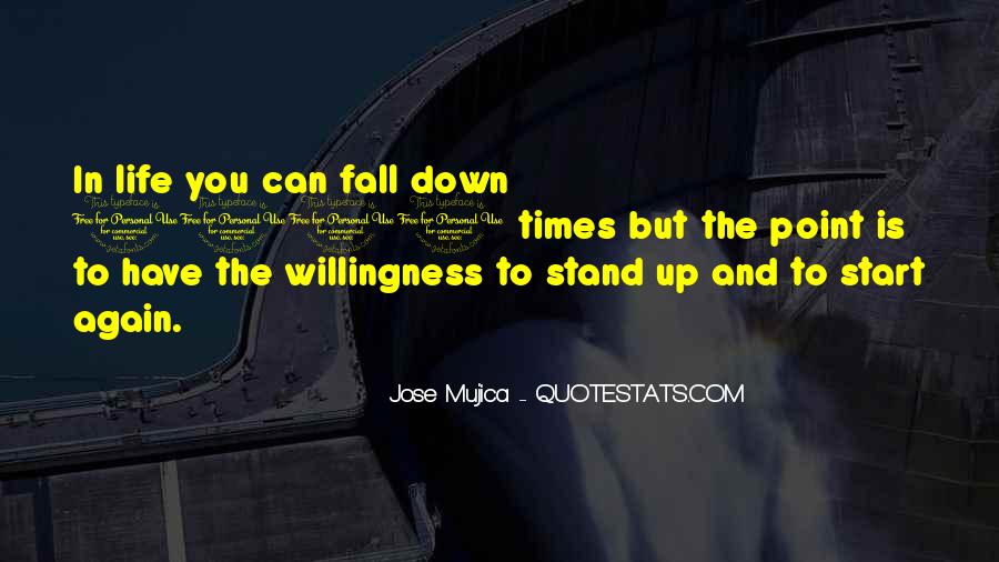 Fall But Stand Up Quotes #586196