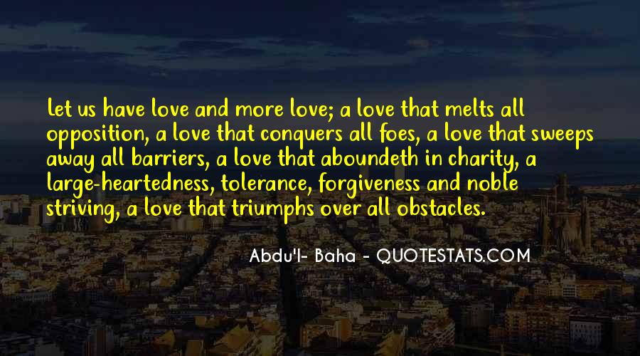 Quotes About How Love Conquers All #1038305