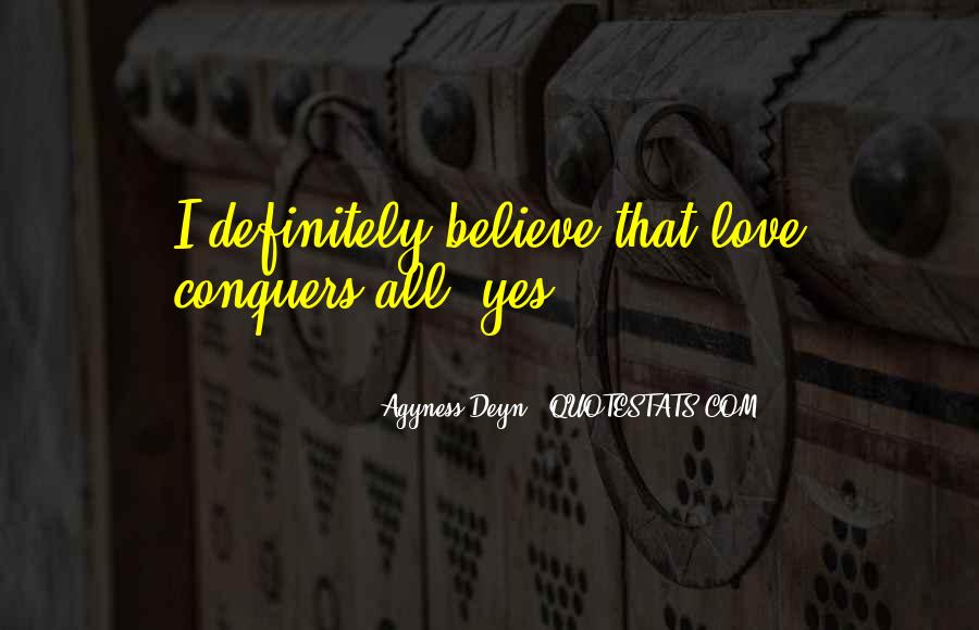 Quotes About How Love Conquers All #309783