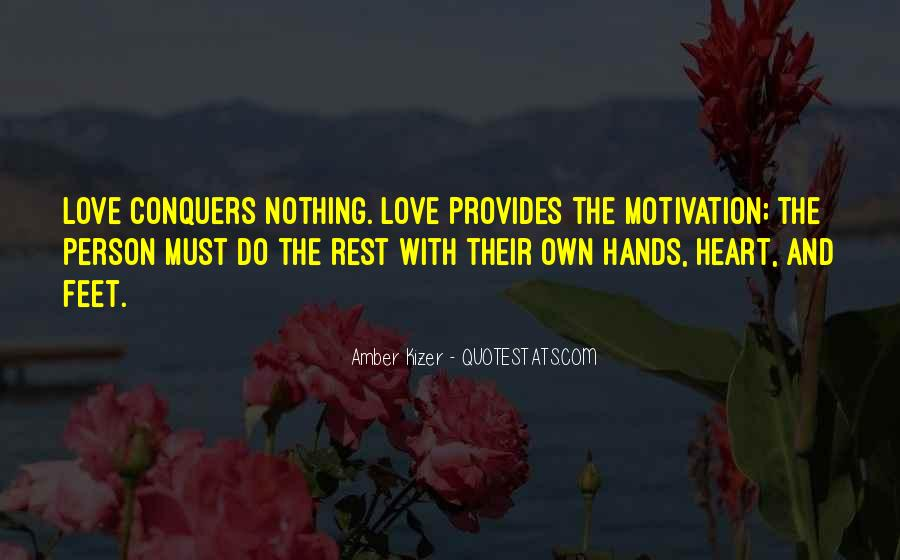 Quotes About How Love Conquers All #449485