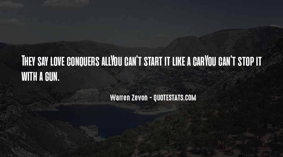 Quotes About How Love Conquers All #570504