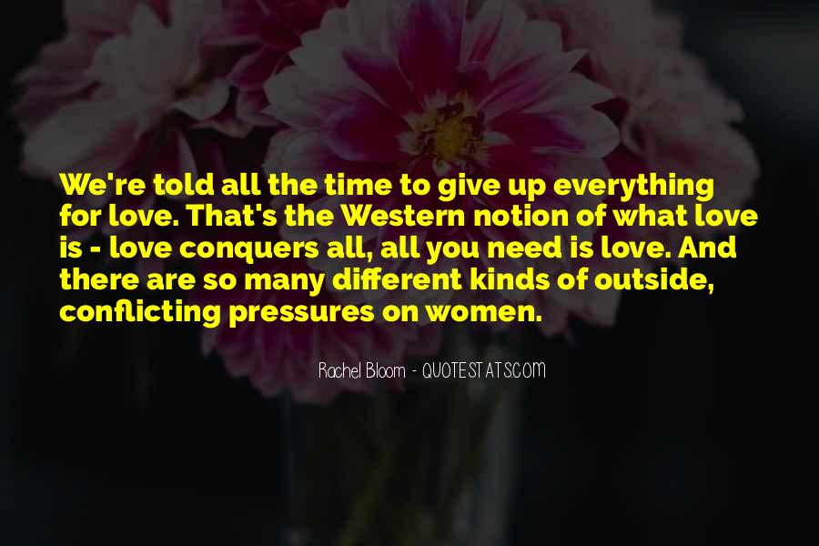 Quotes About How Love Conquers All #590271