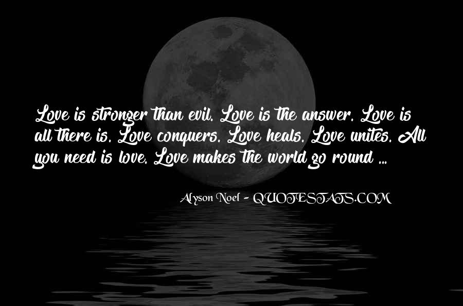 Quotes About How Love Conquers All #731916