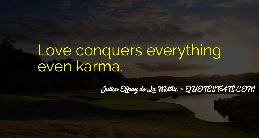 Quotes About How Love Conquers All #979129
