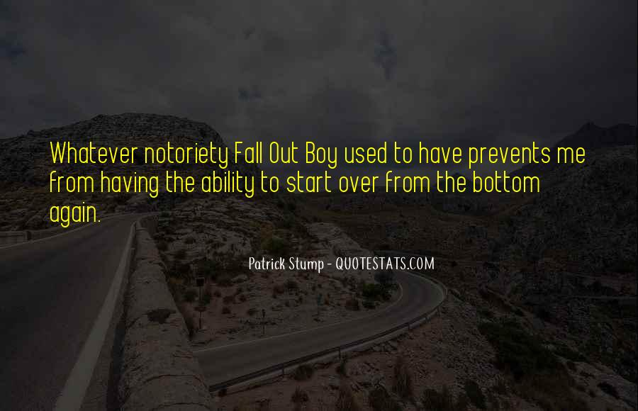 Top 19 Fall Out Boy Patrick Stump Quotes: Famous Quotes ...