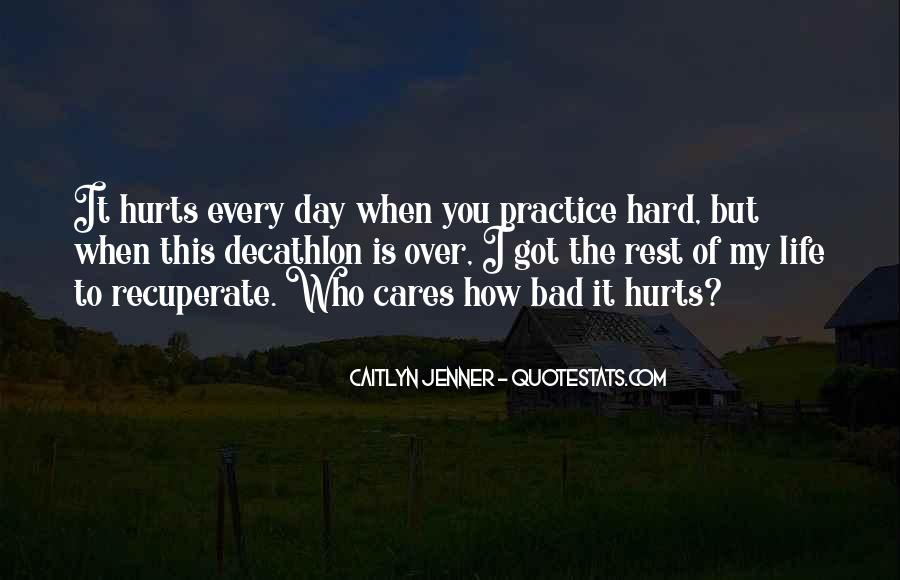 Quotes About How Life Is Hard #1080429