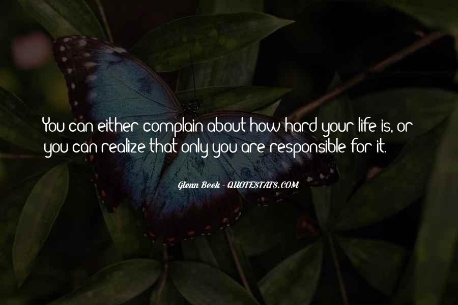Quotes About How Life Is Hard #1118539