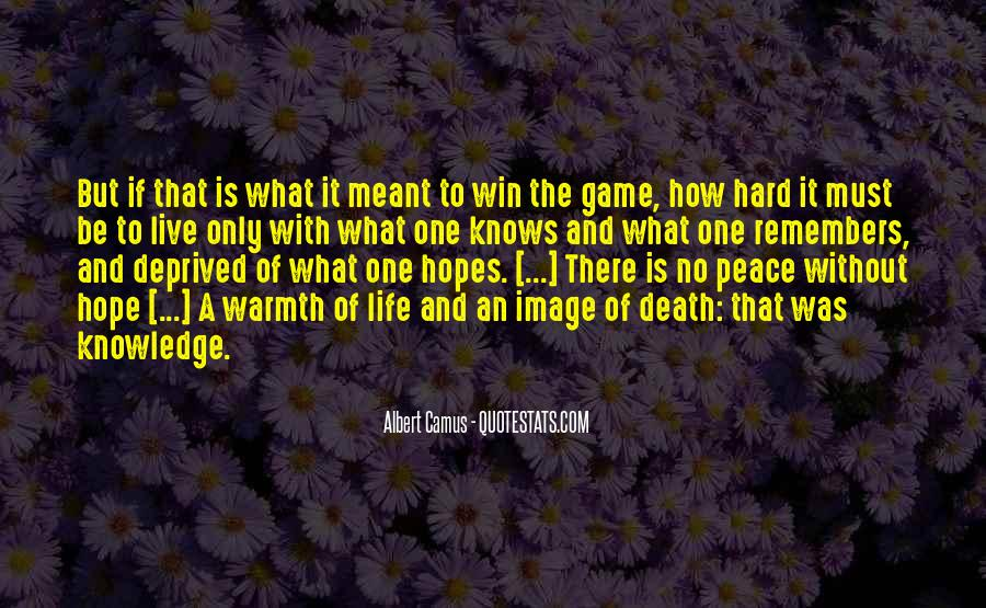 Quotes About How Life Is Hard #1421028