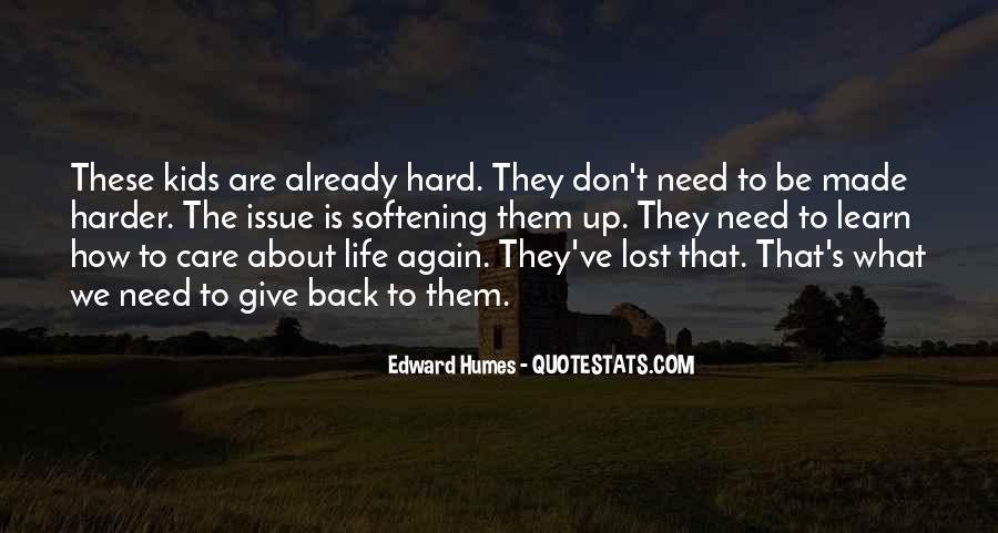 Quotes About How Life Is Hard #42993