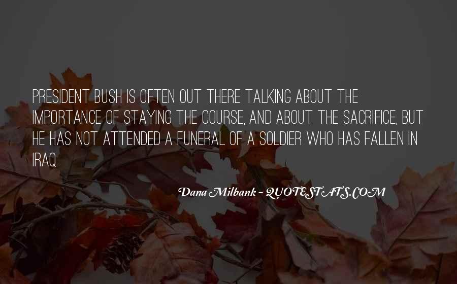 Fallen Soldier Quotes #1051652