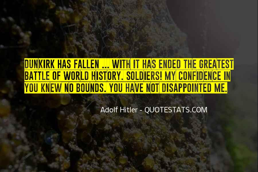 Fallen Soldier Quotes #238707