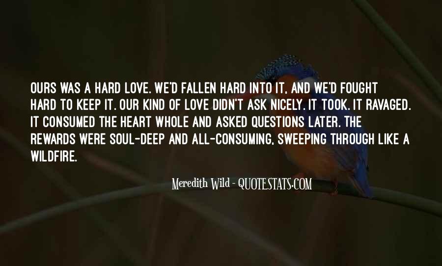 Fallen Too Deep Quotes #1712099