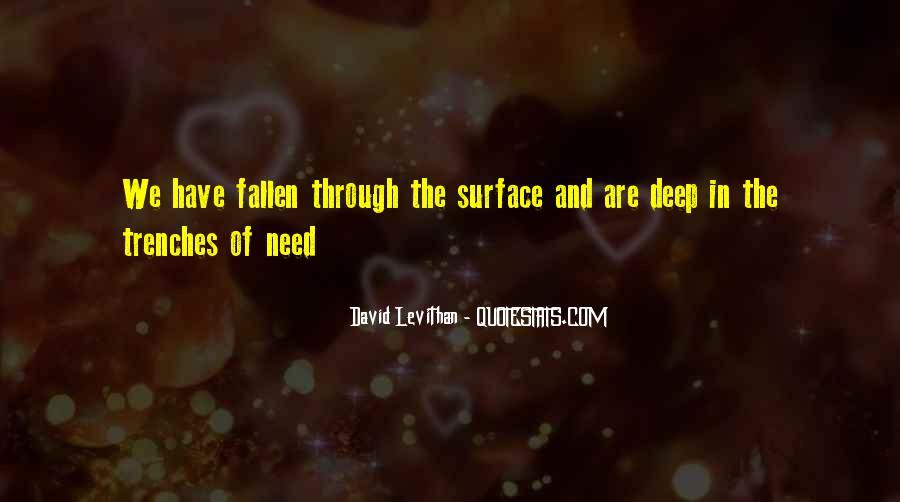 Fallen Too Deep Quotes #703148