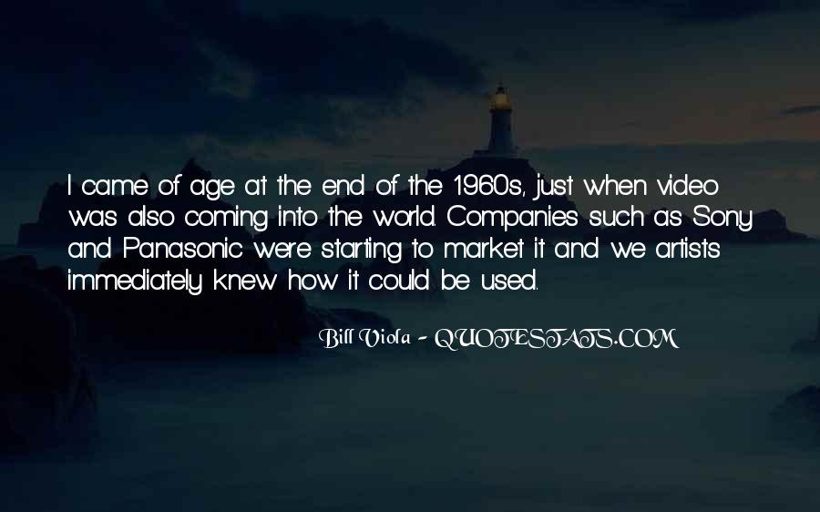 Quotes About How It Used To Be #205949