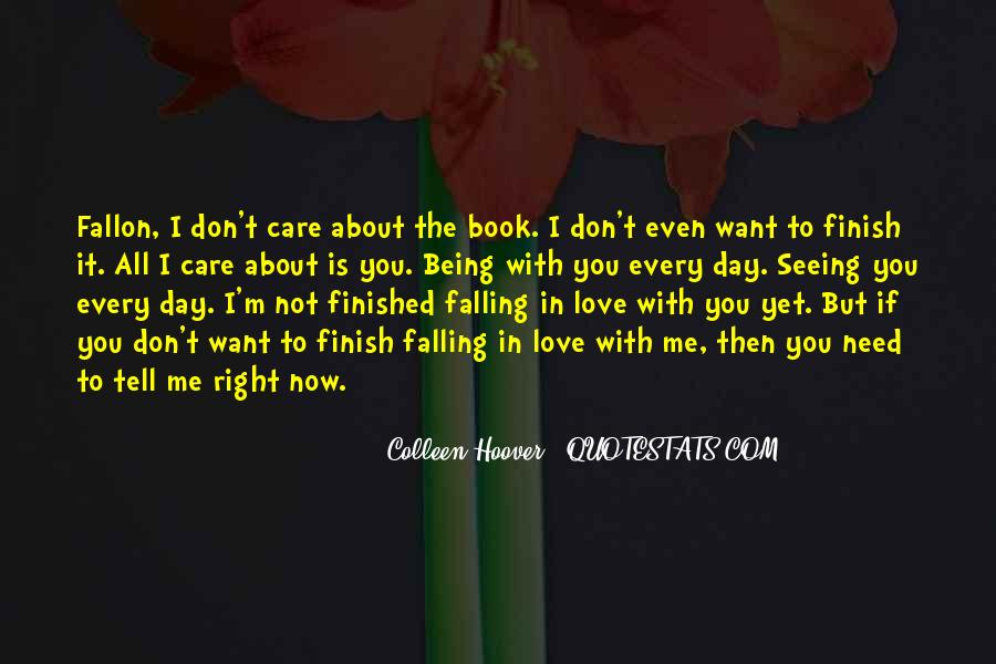 Falling In Love Day By Day Quotes #599562