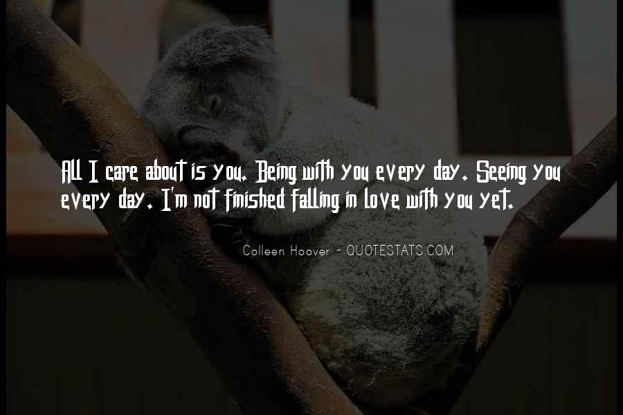 Falling In Love Day By Day Quotes #611963