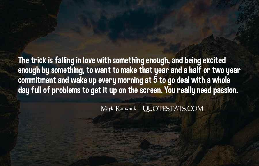 Falling In Love Day By Day Quotes #769261