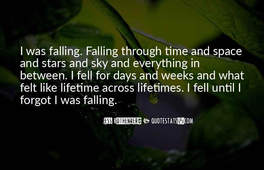 Falling Stars Love Quotes #1850133